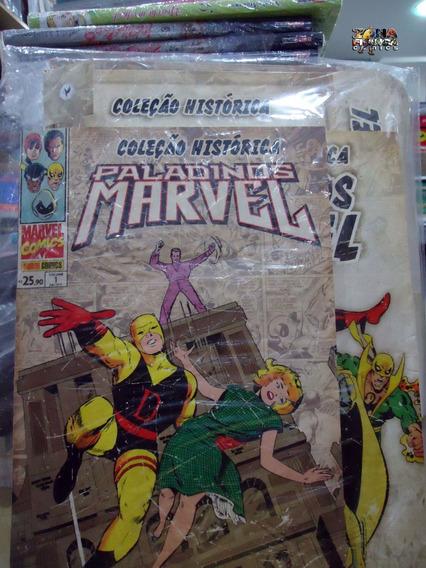 Coleção Histórica Paladinos Marvel Nº 01 Lacrado Panini Comi