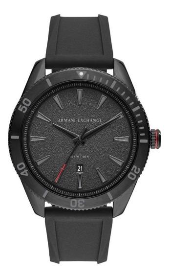 Relógio Pa2155 Armani Exchange Esportivo Ax 1829 Black Lindo
