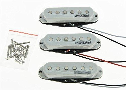Wilkinson Strat Sss Juego De Puas Para Guitarra Compatible