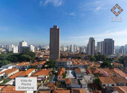 Cobertura Com 3 Dormitórios À Venda, 220 M² Por R$ 2.000.000,00 - Mirandópolis - São Paulo/sp - Co1546