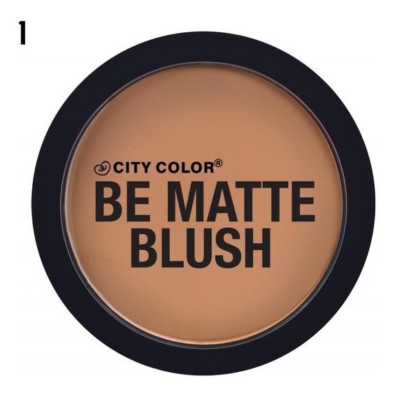 Paquete 6pz Be Matte Blush City Color Mayoreo