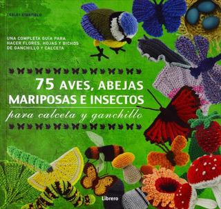 75 Aves, Abejas, Mariposas E Insectos - Para Calce