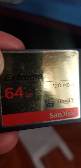 Compact Flash Sandisk Extreme 64gb