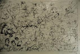 Evandro Salles - Desenho Original Em Bico De Pena