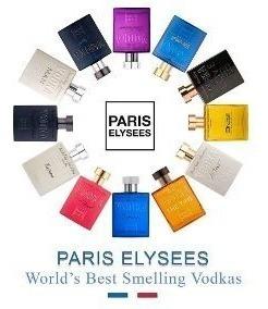 Kit 3 Perfumes Vodka Paris Elysees 100ml