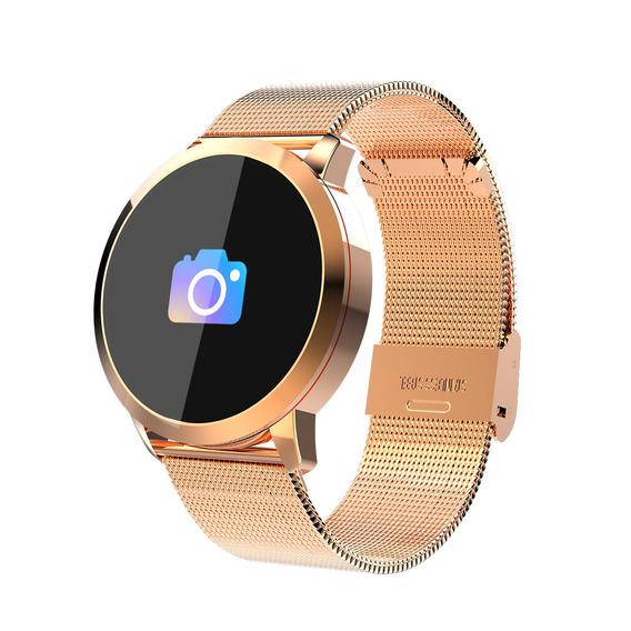 Reloj Inteligente Newwear Q8 Acero Inox. Con Pantalla Oled