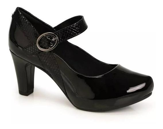Sapato Salto Boneca Conforto Mississipi