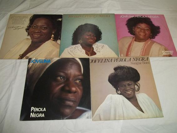 Lp Vinil Jovelina Perola Negra Lote 5 Discos