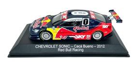 Miniatura Chevrolet Sonic Stock Car 1 43 Caca Bueno Red Bull