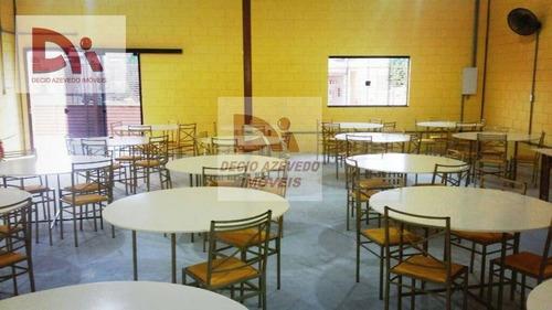 Imagem 1 de 3 de Salão, 290 M² - Venda Por R$ 700.000,00 Ou Aluguel Por R$ 5.000,00/mês - Jardim Santa Cruz - Taubaté/sp - Sl0001