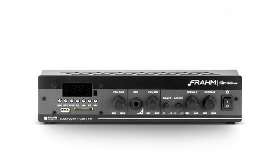Receiver Amplificador Slim 1600 App Frahm - 09932