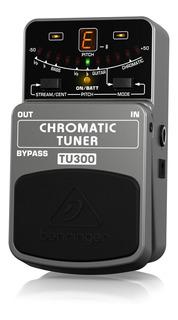 Pedal Behringer Tu300 Afinador Cromatico Guitarra Bajo