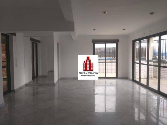 Apartamento Duplex Com 4 Dormitórios Para Alugar, 420 M² Por R$ 3.800/mês - Centro - Guarulhos/sp - Ad0004