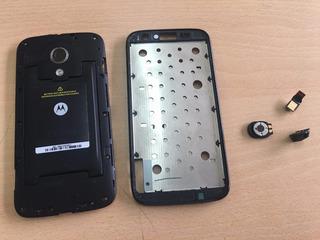 Motorola Moto G Xt1040 :: Repuestos Carcasa Camara Jack