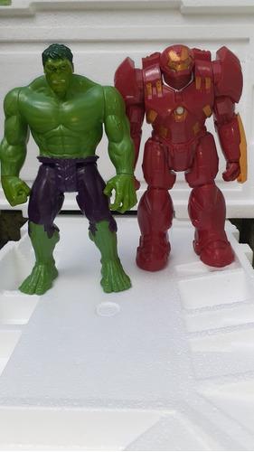 Bonecos 30 Cm Hulkbuster E Hulk Titan Hero Leia Anuncio