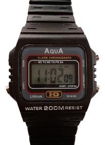 10 Relógio Masculino Aqua Hd Preto Prova Dágua Mercado Livre