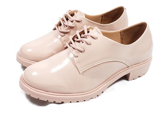 Sapato Fechado Rosa Retrô Oxford Vizzano Ref 1317.100