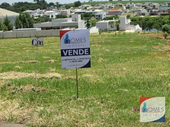 Vende Terreno Condomínio Palmeiras Imperiais - Te0058