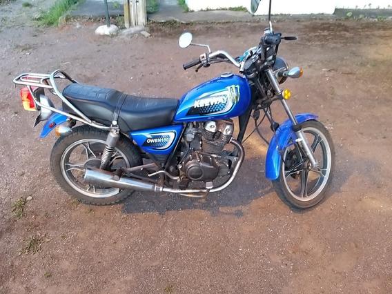 Keeway Owen 150 Azul Año 2011