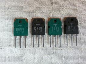4 Transistor Toshiba Amplificador Gradiente Novos!