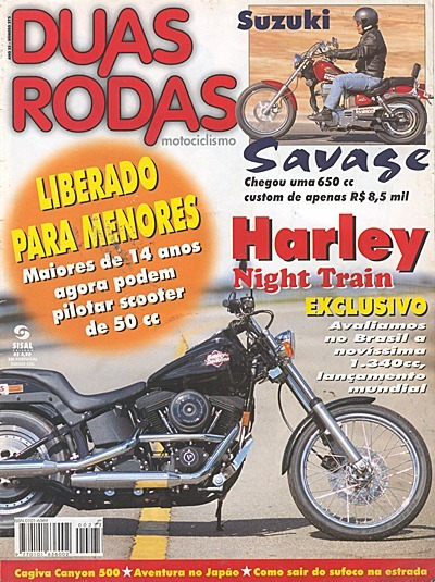 2r.273 Jun98- Harley Night Train Canyon500 Savage650 Ralph3