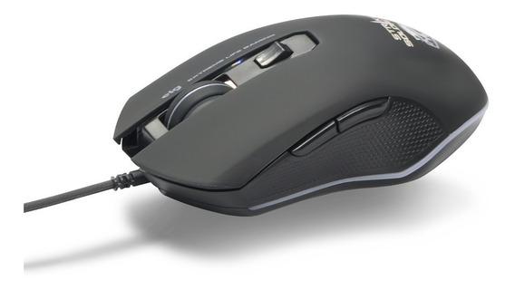 Mouse Gamer Strike Soldier 4800dpi Mgss Elg