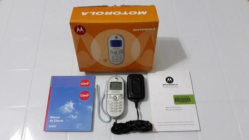 Celular Motorola C200  Com Fonte Carregador
