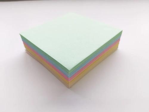 Taco De Papel  9 X 9 Cm Color X 300 Hojas