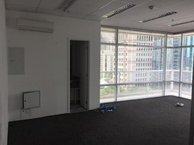 Sala Em Brooklin, São Paulo/sp De 53m² À Venda Por R$ 500.000,00 Ou Para Locação R$ 3.000,00/mes - Sa217392