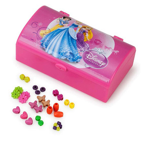 Kit Beleza Princesas Disney Toyng Estojo Rosa