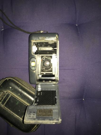 Câmera Yashica Zoomate 70z Conservada Funcionando Com Casebr