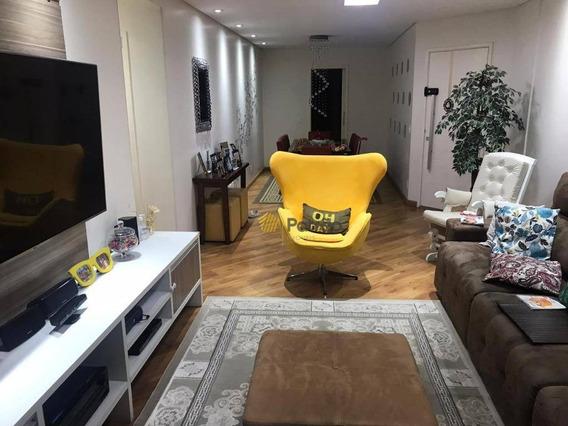 Apartamento Com 4 Dormitórios À Venda, 138 M² Por R$ 787.000 - Parque Anchieta - São Bernardo Do Campo/sp - Ap2621