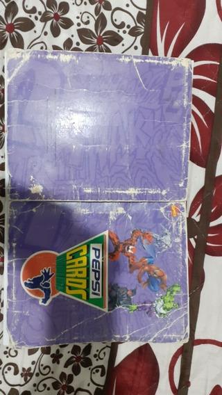 Album Pepsicards Marvel