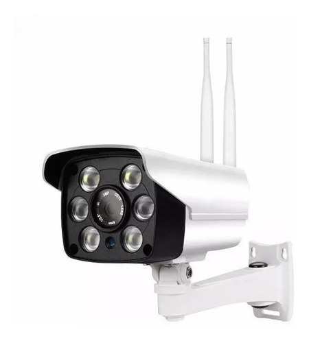 Camara Ip Exterior Inalamabrica Wifi 1080 Hd +soporte