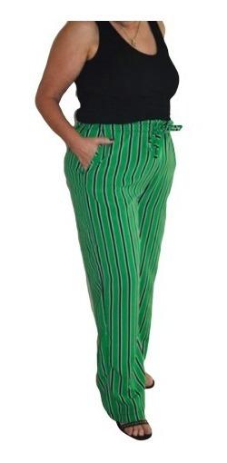 Pantalones Palazos Mujer Rayados Mercadolibre Com Ar