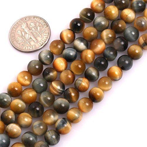 Geminside Ojo De Tigre Piedras Preciosas Perlas Sueltas 6mm