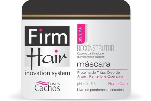 Imagem 1 de 2 de Máscara Reconstrutora Firm Hair 500 Ml Linha Cachos