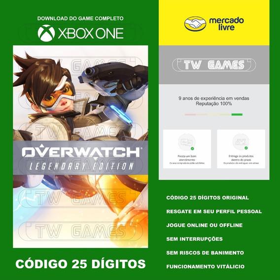 Overwatch Legendary Edition Codigo 25 Digitos Xbox Fat S X