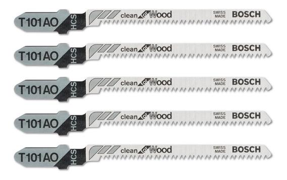Hoja Sierra Caladora Bosch T101ao Corte Curvo Madera X5u