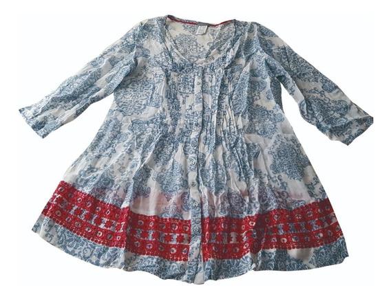 Vestido Dama Estilo Bluson Hindu
