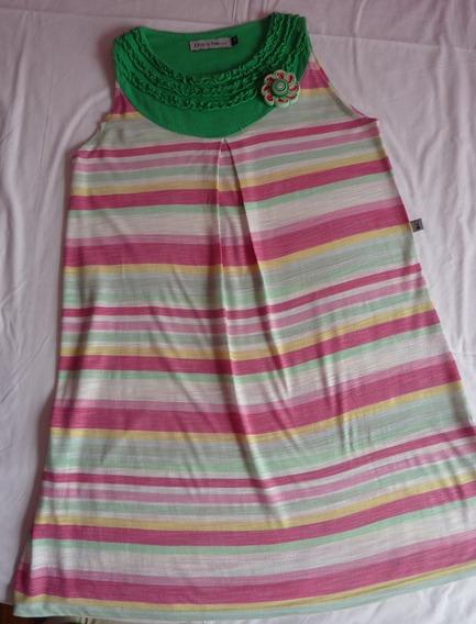 Vestido Child In Time +, Talle 12 Para Nena, Suelto, Sin Ma