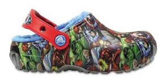 Zueco Crocs Crocs Funlab Lined Avengers C-204717-410