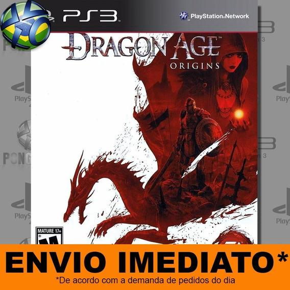 Jogo Ps3 Dragon Age Origins Psn Play 3 Envio Imediato