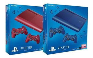 Playstation 3 Ps3 320gb Slim Fifa 18 Pes Gta Juegos + Regalo