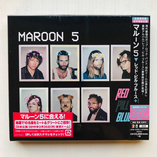 Maroon 5 Red Pill Blue Japan Tour Edition 2 Cds Slip Case