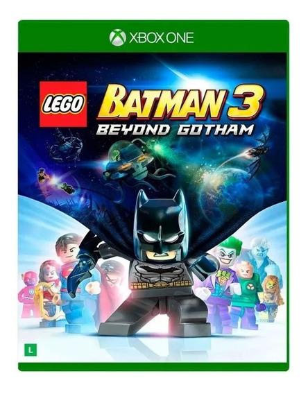 Lego Batman 3 Beyond Gotham Xbox One Mídia Física