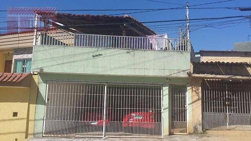 Casa Residencial À Venda, Vila Lucinda, Santo André. - Ca0466
