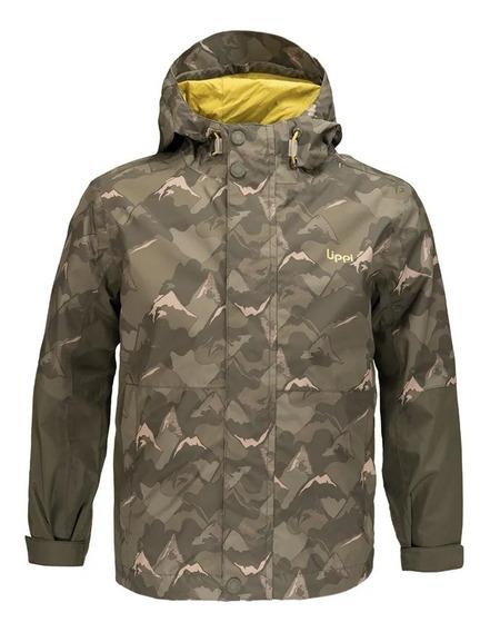 Chaqueta Niño Lippi Torreto B-dry Hoody Jacket Verde I19