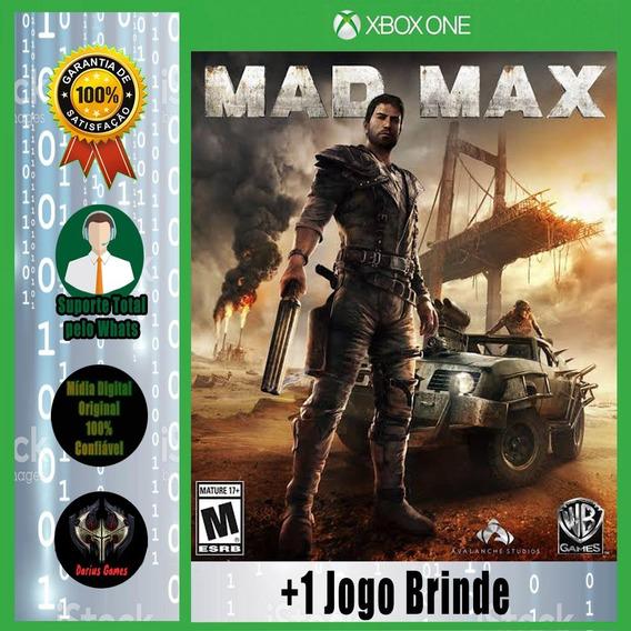 Mad Max Xbox One Midia Digital +1 Jogo Brinde
