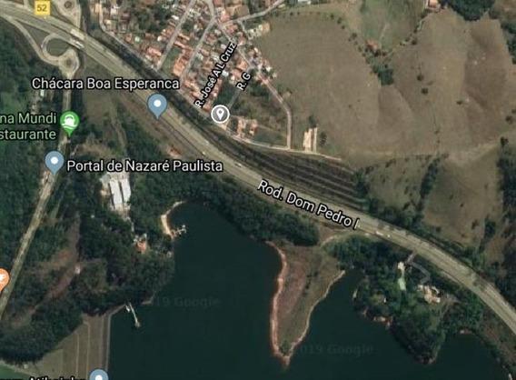 Terreno Em Centro, Nazaré Paulista/sp De 0m² À Venda Por R$ 180.000,00 - Te379870